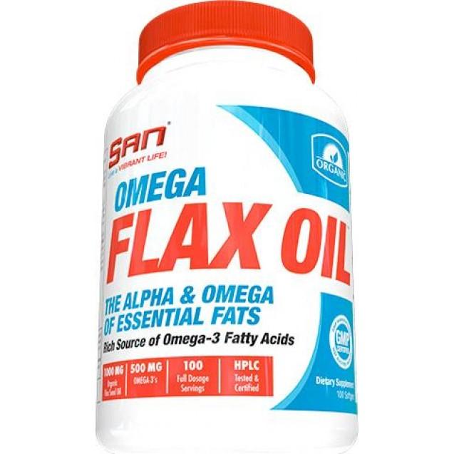 SAN Omega Flax Oil 100 капсул