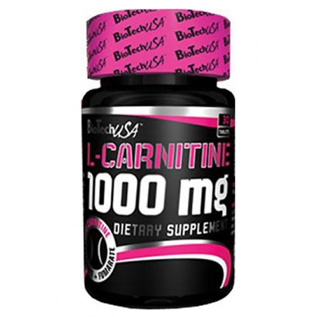 L-Carnitine 1000mg BioTech USA 30 таблеток