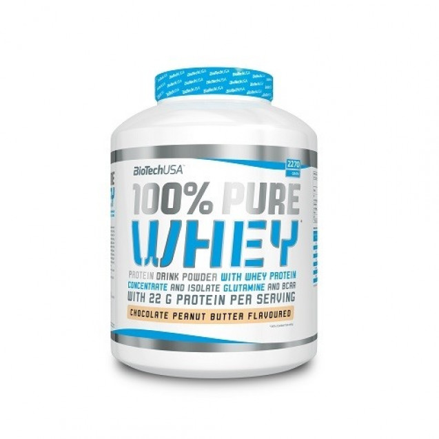 100% Pure Whey BioTech USA 2270 г
