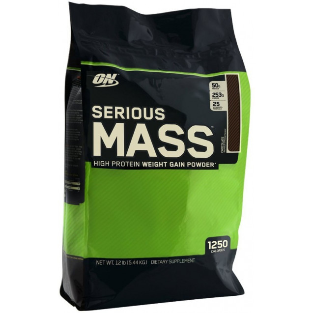 Optimum Nutrition Serious Mass 5440 гр
