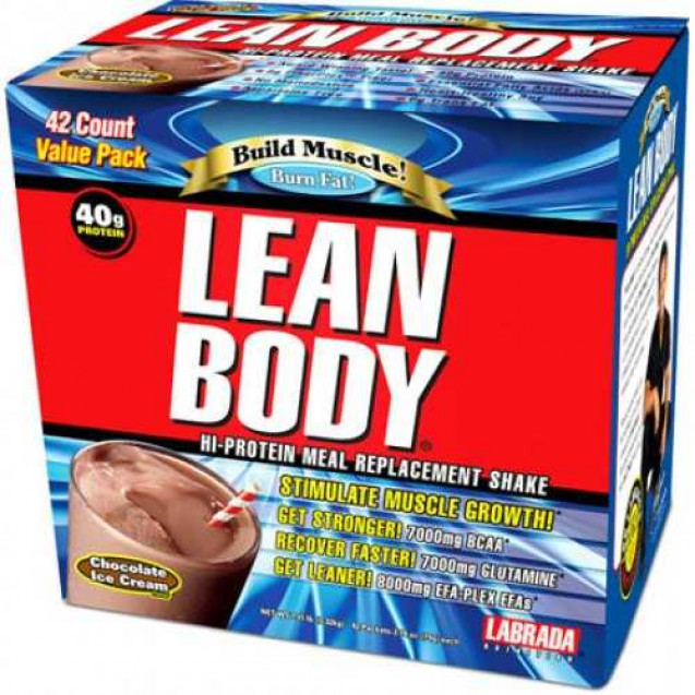 Lean Body Hi-Protein MRP, Labrada Nutrition, 20 pack