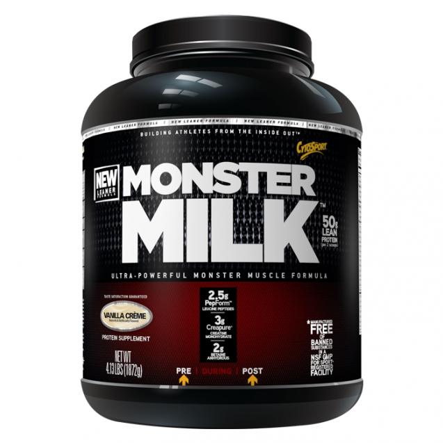 Monster Milk протеин, производитель CytoSport, упаковка банка 2016 гр.