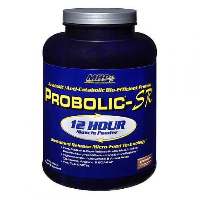 Probolic-SR протеин, проболик протеин, производитель MHP, упаковка коробка 910 грамм.