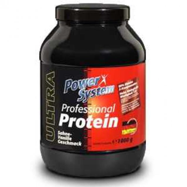 Professional Protein протеин, профешнл протеин, спортивное питание, производитель Power System, упаковка банка 1кг.