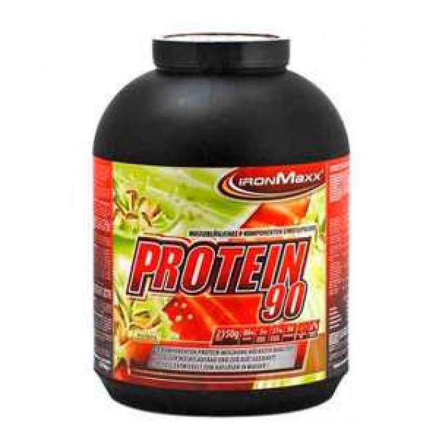 Protein 90 2,35 kg (Протеин 90 2,35 кг) протеин, производитель Ironmaxx, упаковка банка 2350гр