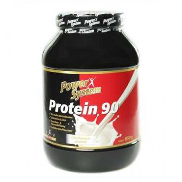 Protein 90, протеин 90, производитель Power System, упаковка банка 830гр