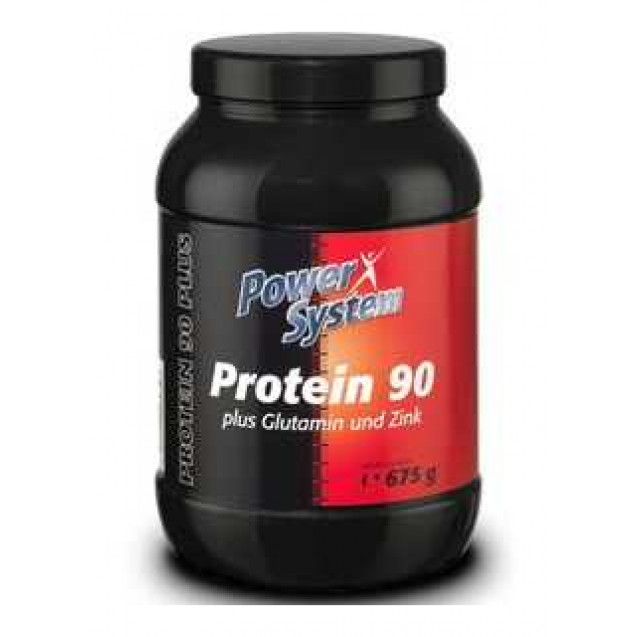 Protein 90, протеин, произвоитель Power System, упаковка банка 675 гр.