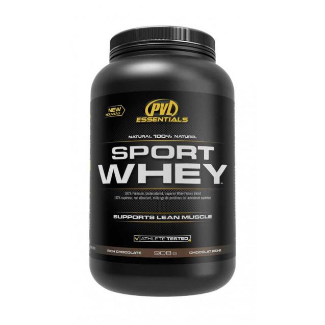 Sport Whey 2lb, протеин, производитель Fit Foods, упаковка банка 908 гр