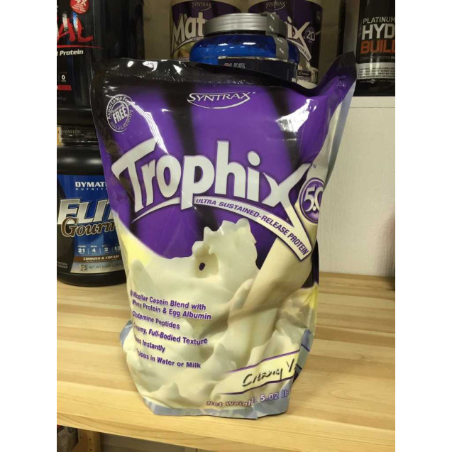 Trophix protein, трофикс протеин, спортивное питание, производитель Syntrax Innovations, упаковка пакет 2280 гр