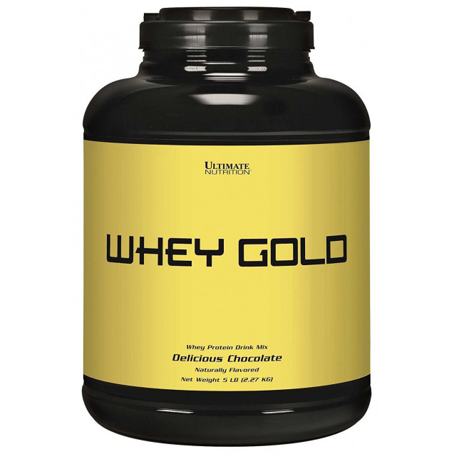 Whey Gold, Ultimate Nutrition, 2270 гр