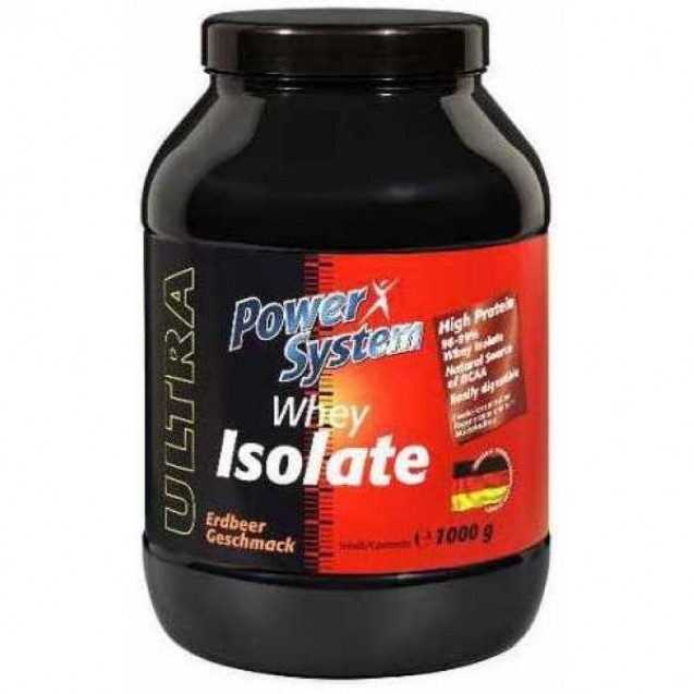 Whey Isolate протеин, производитель Power System, упаковка банка 1000 гр.