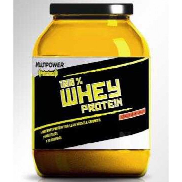 100% Whey Protein, производитель Multipower, упаковка банка 2250 гр.