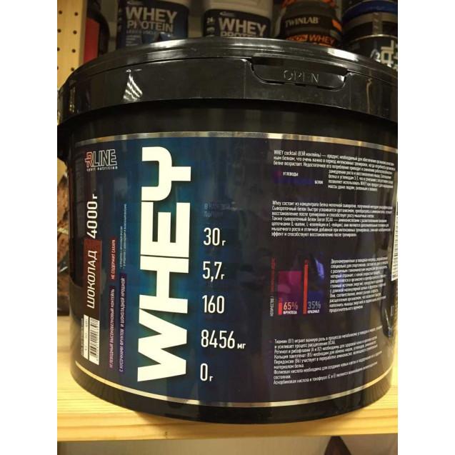 Whey New протеин, вей нью, раздел спортивное питание, производитель Rline, упаковка банка 4000 гр.