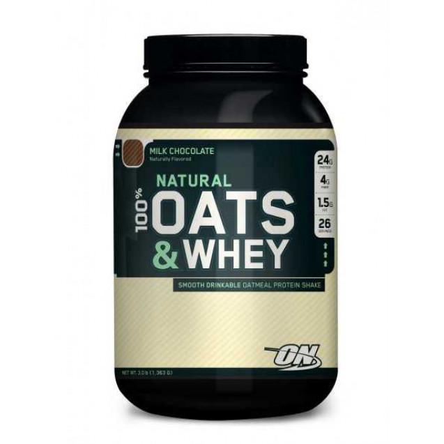 Optimum Nutrition 100% Natural Oats & Whey 1363 гр