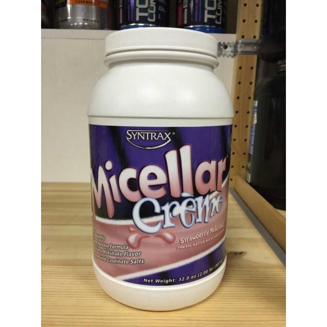Micellar Creme 2.1, мицеляр крем протеин, производитель Syntrax, упаковка банка 916 гр.