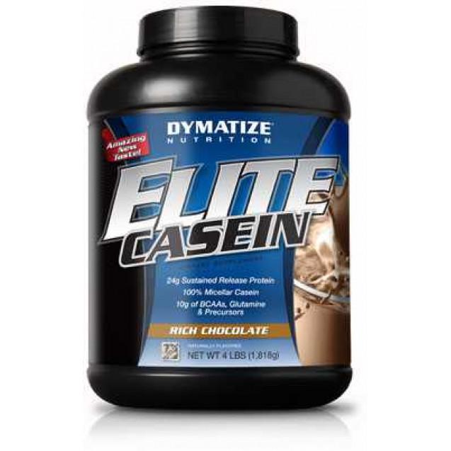 Elite Casein, протеин, производитель Dymatize, упаковка банка 1800 гр.