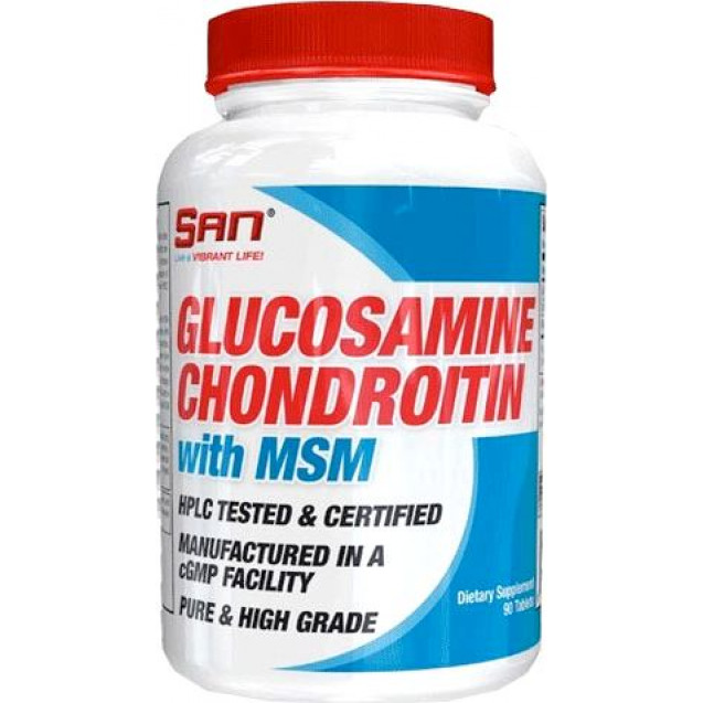 SAN Glucosamine Chondroitin MSM 90 таблеток