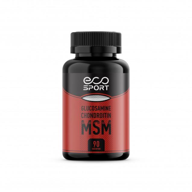 EcoSport Glucosamine Chondroitin MSM 90 таблеток