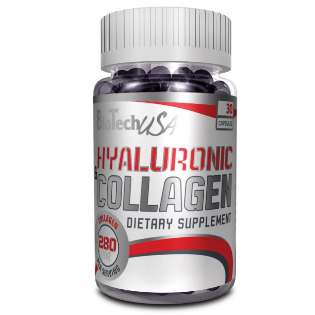 Hyaluronic & Collagen BioTech USA 30 капсул