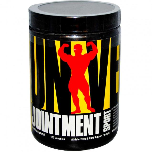 Jointment Sport Джоинтмент Спорт, хандропротектор, производитель Universal, упаковка банка 120 капсул