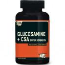 Glucosamine Plus CSA 120k, производитель Optimum Nutrition, упаковка банка.