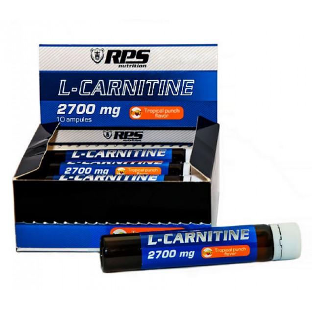RPS  L-Carnitine 2700, Л-карнитин в ампулах 10 шт