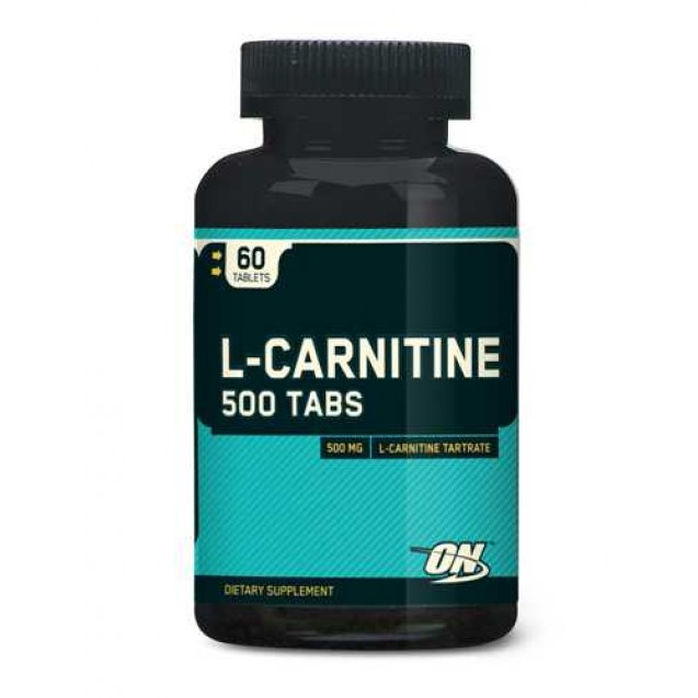 Optimum Nutrition L-Carnitine 500 Tabs 60 таблеток