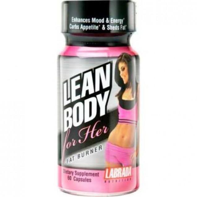 Lean Body for Her Fat Burner, Labrada Nutrition, 60 caps