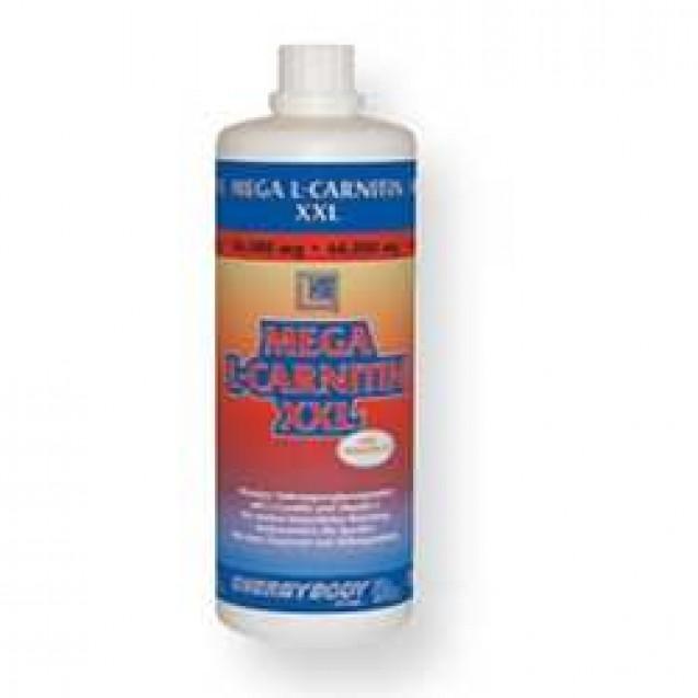 Mega L-Carnitin XXL жиросжигатель, производитель EnergyBody FFB, упаковка бутылка 1 литр.