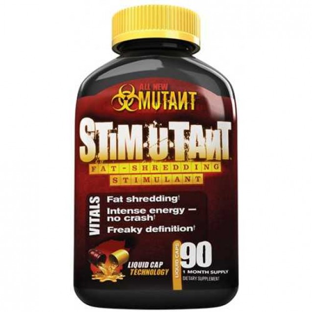 Mutant Stimutant, Fit Foods, 90 caps