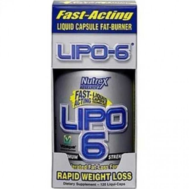 Lipo-6, липо-6 жиросжигатель, производитель Nutrex, упаковка банка 240 капсул.
