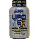 Lipo-6x, липо 6х, жиросжигатель, производитель Nutrex, упаковка банка 240 капсул