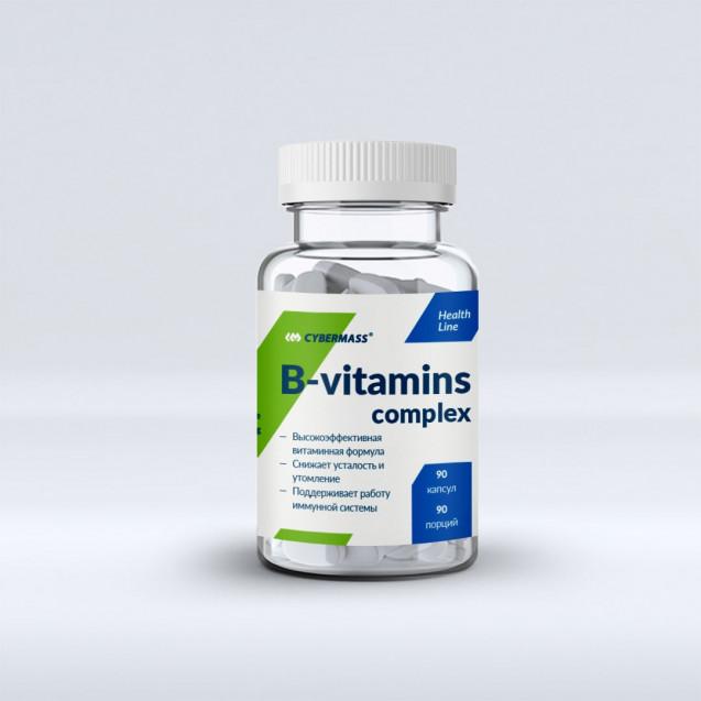 Cybermass B-vitamins complex 90 капсул
