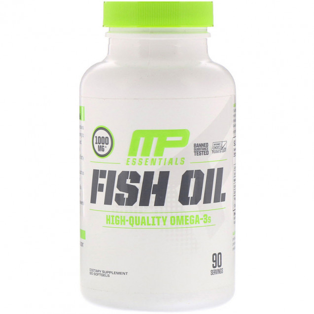 MusclePharm Essentials Fish Oil 90 капсул