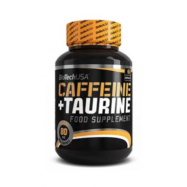 Caffeine + Taurine BioTech USA 60 капсул