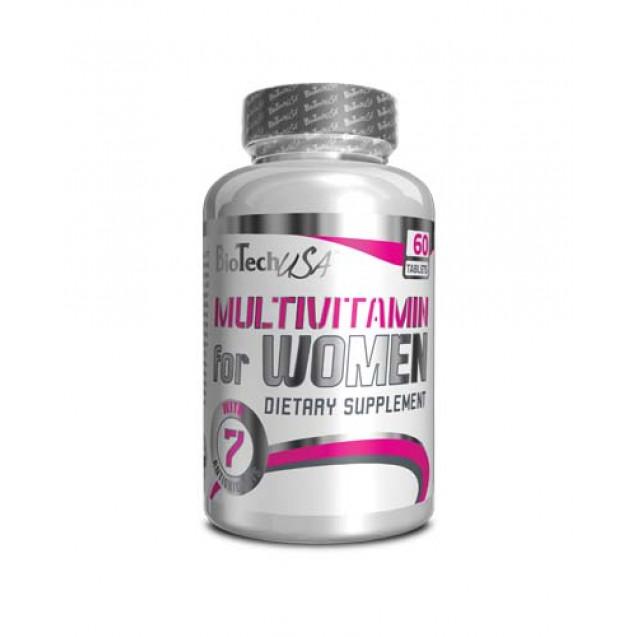 Multivitamin for Women BioTech USA 60 таб
