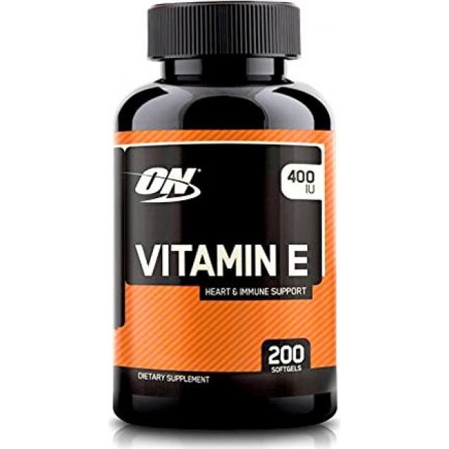 Optimum Nutrition Vitamin E 400 IU 200 капсул