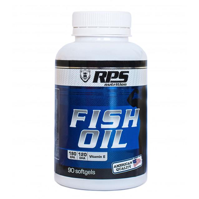 RPS Fish Oil, Омега-3 90 капсул