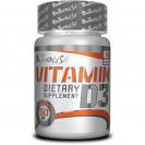 Vitamin D3 BioTech USA 60 таб