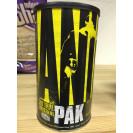 Animal Pak, Энимал Пак витамины, производитель Universal Nutrition, упаковка банка 44 пакета