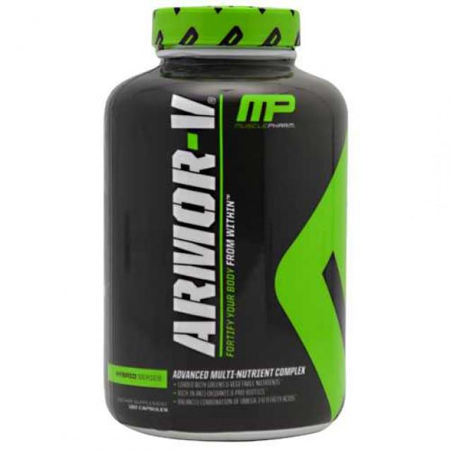 Armor-V витамины, Армор-V витамины, производитель MusclePharm, упаковка банка 180 таб