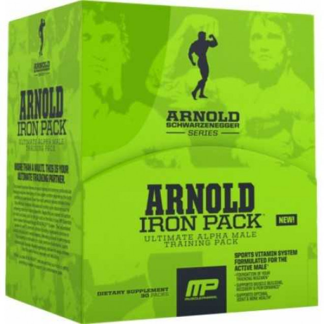 Arnold Iron Pack, MusclePharm, 30 pac
