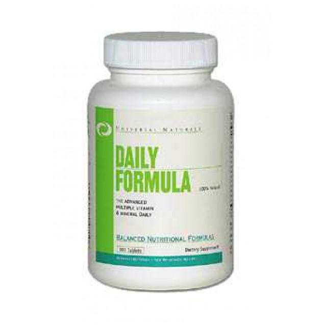 Daily Formula витамины, производитель Universal Nutrition, упаковка 100 таблеток