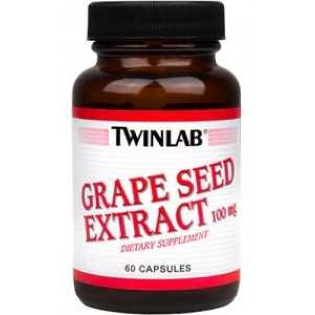 Grape Seed Extract 50 mg, производитель Twinlab, упаковка 60 капсул