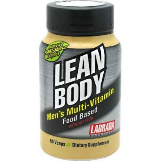 Lean Body Men's Multi-Vitamin, Labrada Nutrition, 60 cap
