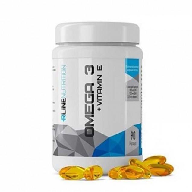 Omega-3 + VitaminE Rline 90 капсул