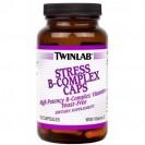 Stress B-Complex caps, витамины, производитель Twinlab, упаковка банка 100 капсул